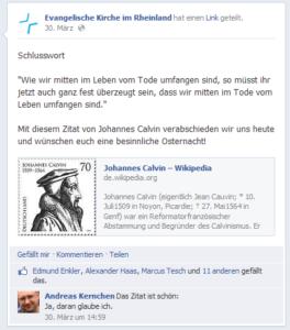 Facebook-Posts lassen sich schnell teilen.
