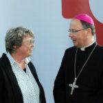 Oberkirchenrätin Barbara Rudolph und Bischof Dr. Stephan Ackermann