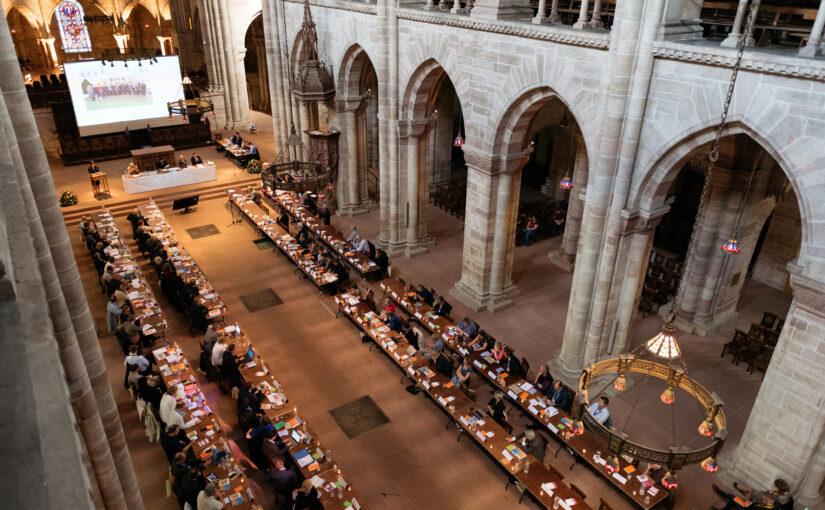 Eröffnung der Vollversammlung der Gemeinschaft Evangelischer Kirchen in Europa in Basel