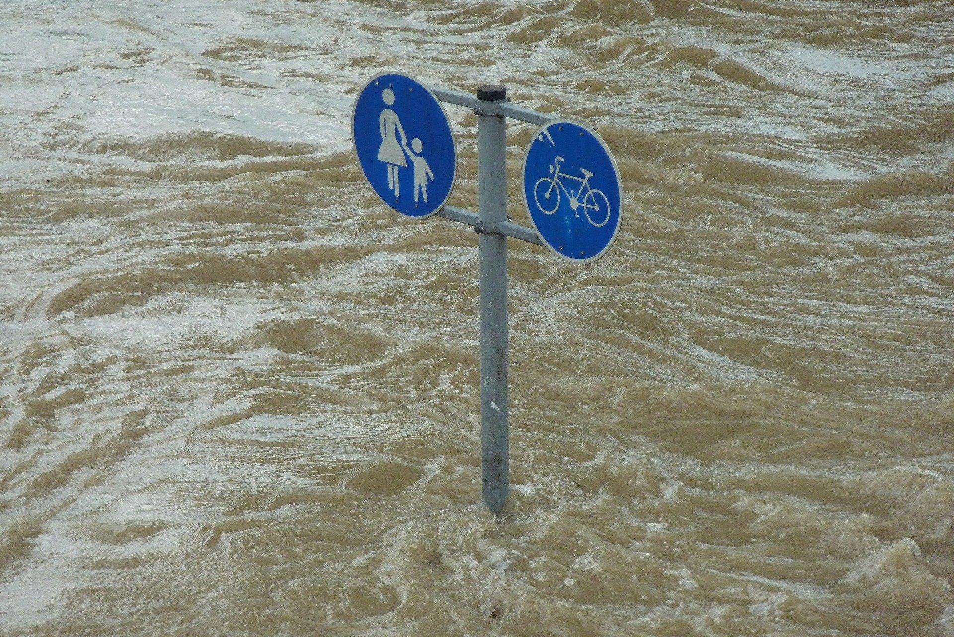 Überschwemmung